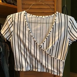 STRIPED PACSUN TOP